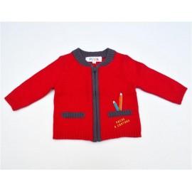 Cardigan tricot à zip