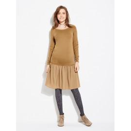 Robe en laine de grossesse