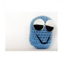 Monstre bleu au crochet