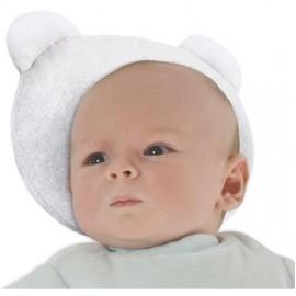 Cale tête bébé p'tit panda Blanc