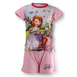 Pyjama 2 pièces coton Princesse Sofia