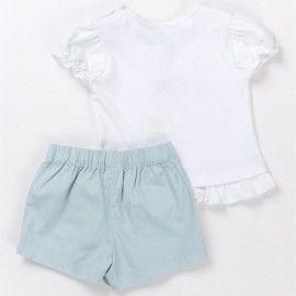 Ensemble pure coton T-shirt et Short