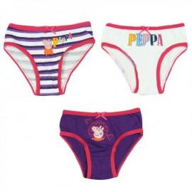 Boîte de 3 culottes Peppa Pig