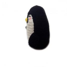 Peluche Grand Pingouin au crochet