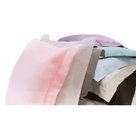 Taie d'oreiller blanc (40 x 60cm) Doux Nid