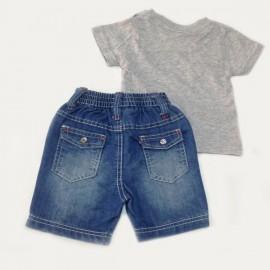 Ensemble 2 pièces T-shirt et Short jean