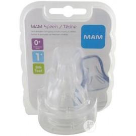Mam - 1 Tétine débit 1 lent (0 mois et +)