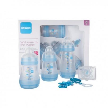 Mam - kit naissance Bleu - coffret cadeau