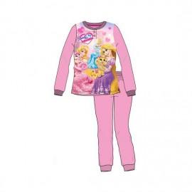 Pyjama 2 pièces polaire Princesses Rose