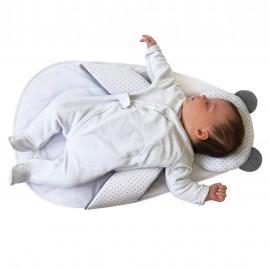 Cale bébé Panda Pad Blanc