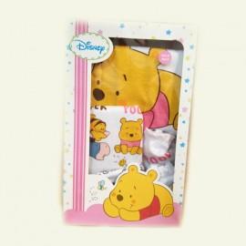 Coffret cadeau naissance 4 pièces Disney Winnie