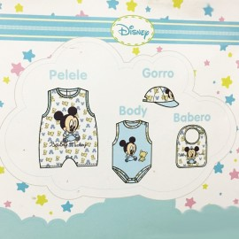 Coffret cadeau 4 pièces Disney Mickey