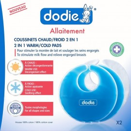 Dodie Coussinets 2 en 1 chaud/froid x2