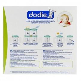 Dodie Pots de conservation repas - 200mlx6