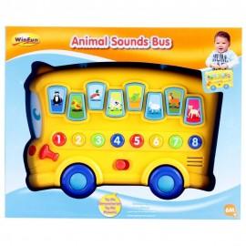 winfun Bus scolaire des animaux (+6mois)