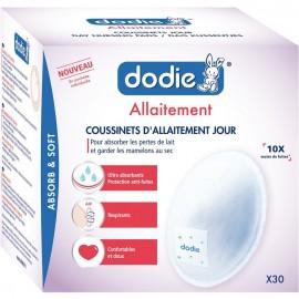 Dodie Coussinets d'Allaitement Jour Pochettes individuelles x30