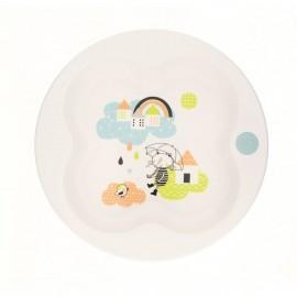 Bébé Confort Assiette d'apprentissage avec couvercle (+9 mois) - Under the rainbow