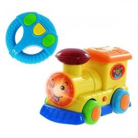 winfun petite locomotive telecommandée (12 mois+)