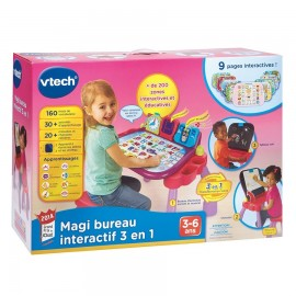 Magi bureau interactif 3en1 Rose Vtech (3-6ans)