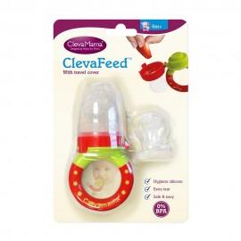 Clevamama Grignoteuse Bébé en Silicone ClevaFeed