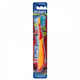 Oral-B Stages brosse à dents Cars- 5-7 ans