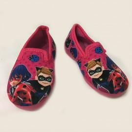 Pantoufles chaussons Ladybug Miraculous