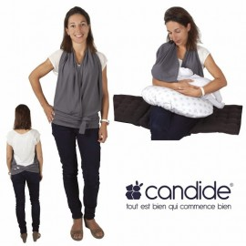 Candide - Top d'allaitement gris anthracite