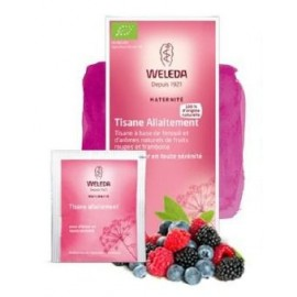 Weleda tisane allaitement Bio Fruits Rouges 20 sachets