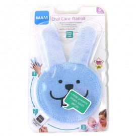 Mam - Gant Oral Care Rabbit - Bleu