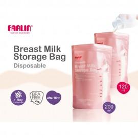 Farlin - 22 Sachets de conservation du lait maternel - 120ml