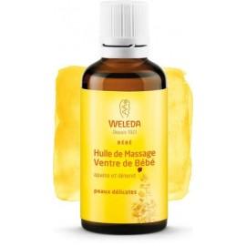 Weleda Huile de Massage Ventre de Bébé - 50ml