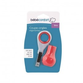 Bébé Confort Coupe-ongles ergonomique avec base Corail