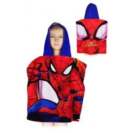 Poncho de bain Spiderman