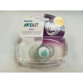 AVENT mini-sucettes pour les nouveau-nés, 0-2mois, Vert