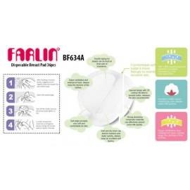 Farlin 36 Coussinets d'allaitement jetables