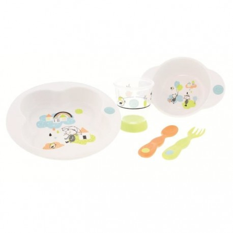 Bébé Confort Set de repas Under the rainbow - 18M+