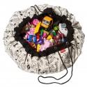 Play&Go Tapis de Jeu et sac à jouets à colorier