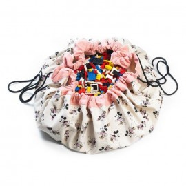 Play&Go Tapis de Jeu et sac à jouets Minnie