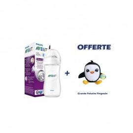 Avent Biberon Natural 330ml + Peluche offerte