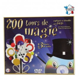 Coffret 200 tours de magie + DVD - Ferriot Cric