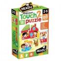 Montessori puzzle le parc 2-5 ans - Headu