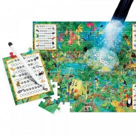 Puzzle explore la forêt 5-10 ans - Headu
