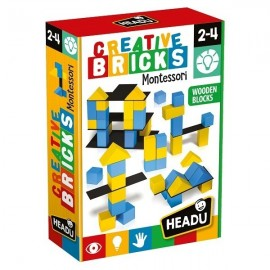 Montessori briques créatives 2-4 ans - Headu