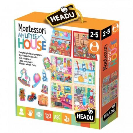 Puzzle Ma petite maison Montessori 2-5 ans - Headu