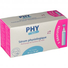 Sérum Physiologique 40x 5 ml PHY