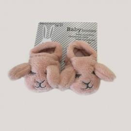 Chaussons bébé lapins 100% chauds 100% doux