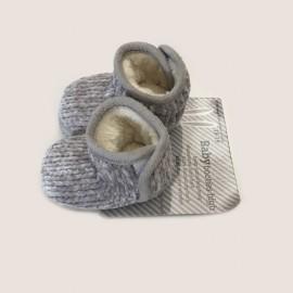Chaussons boots bébé 100% chauds 100% doux