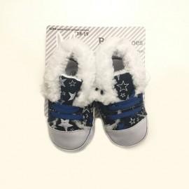 Chaussons baskets bébé 100% chauds 100% doux