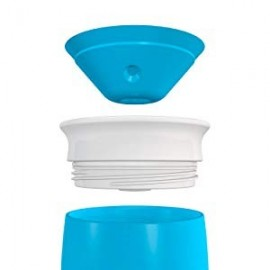Munchkin Tasse d'Apprentissage Miracle 360° -207ml - Bleue