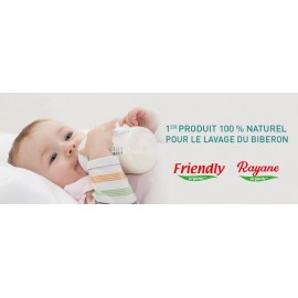 Liquide lavage biberon 100% naturelle 500 ml - Rayane